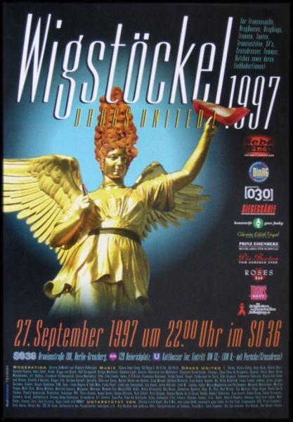 Wigstöckel 1997 im SO36
