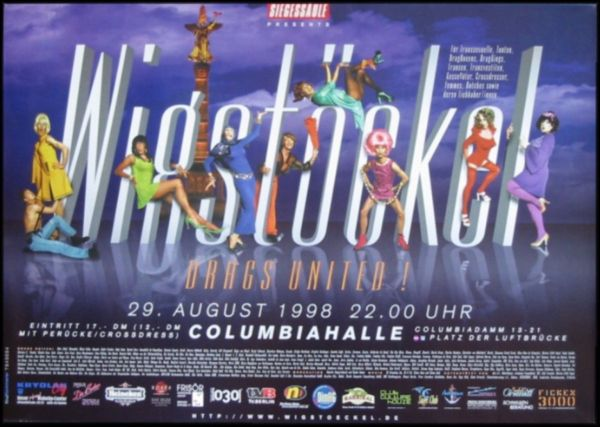 Wigstöckel 1998 in der Columbiahalle