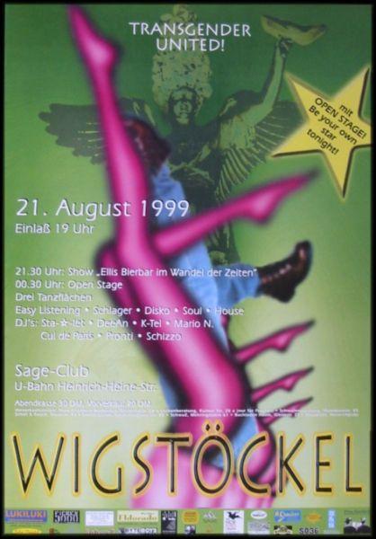 Wigstöckel 1999 im Sage Club
