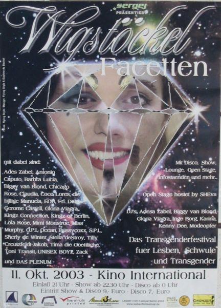 Wigstöckel 2003 im Kino Interbational