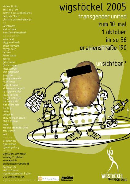 X. Wigstöckel 2005 im SO36
