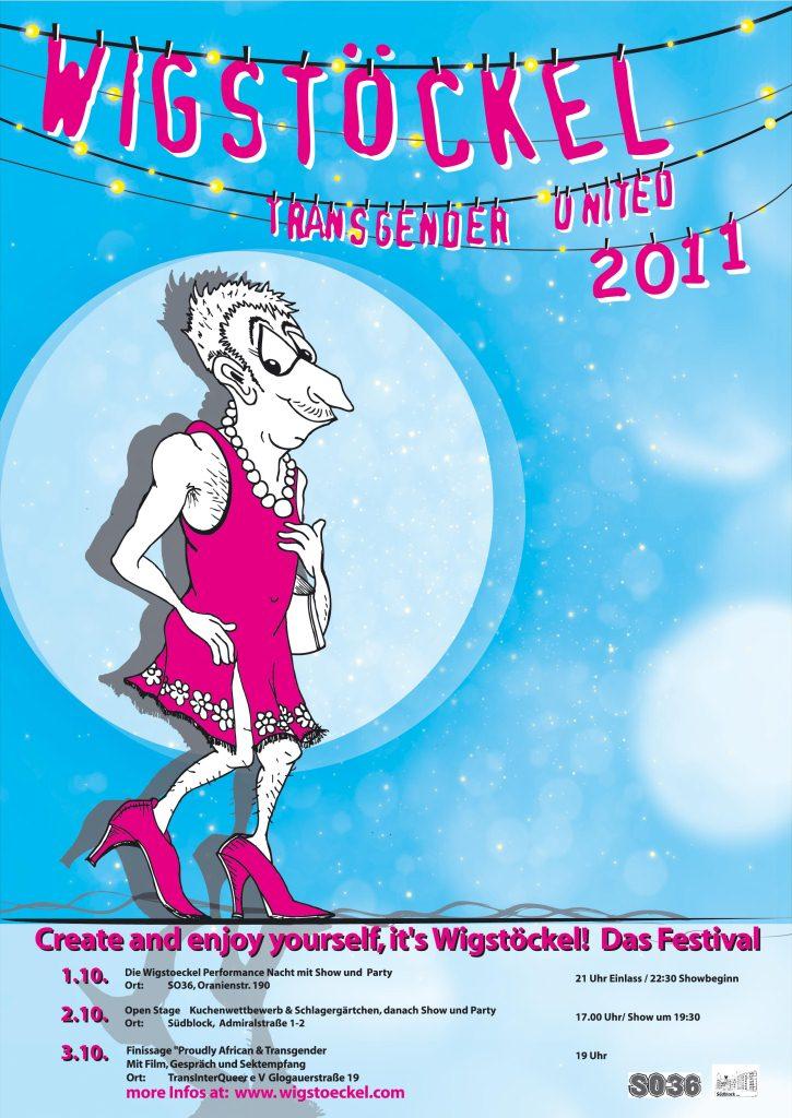 Wigstöckel Create and Enjoy Yourself Oktober 2011